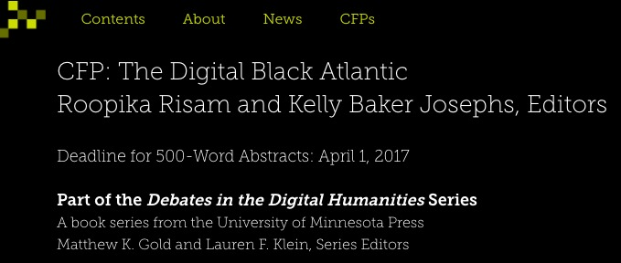 The Digital Black Atlantic